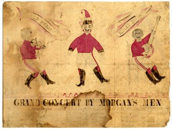 Grand Concert by Morgan's Men Program