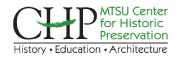 MTSU Center for Historic Preservation logo