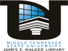 MTSU James E. Walker Library logo
