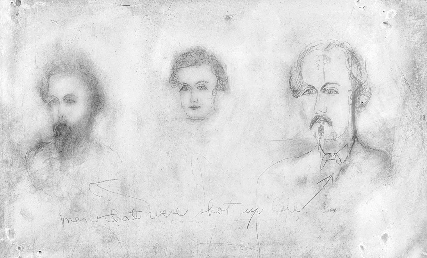 Civil War Confederate Soldiers Drawing